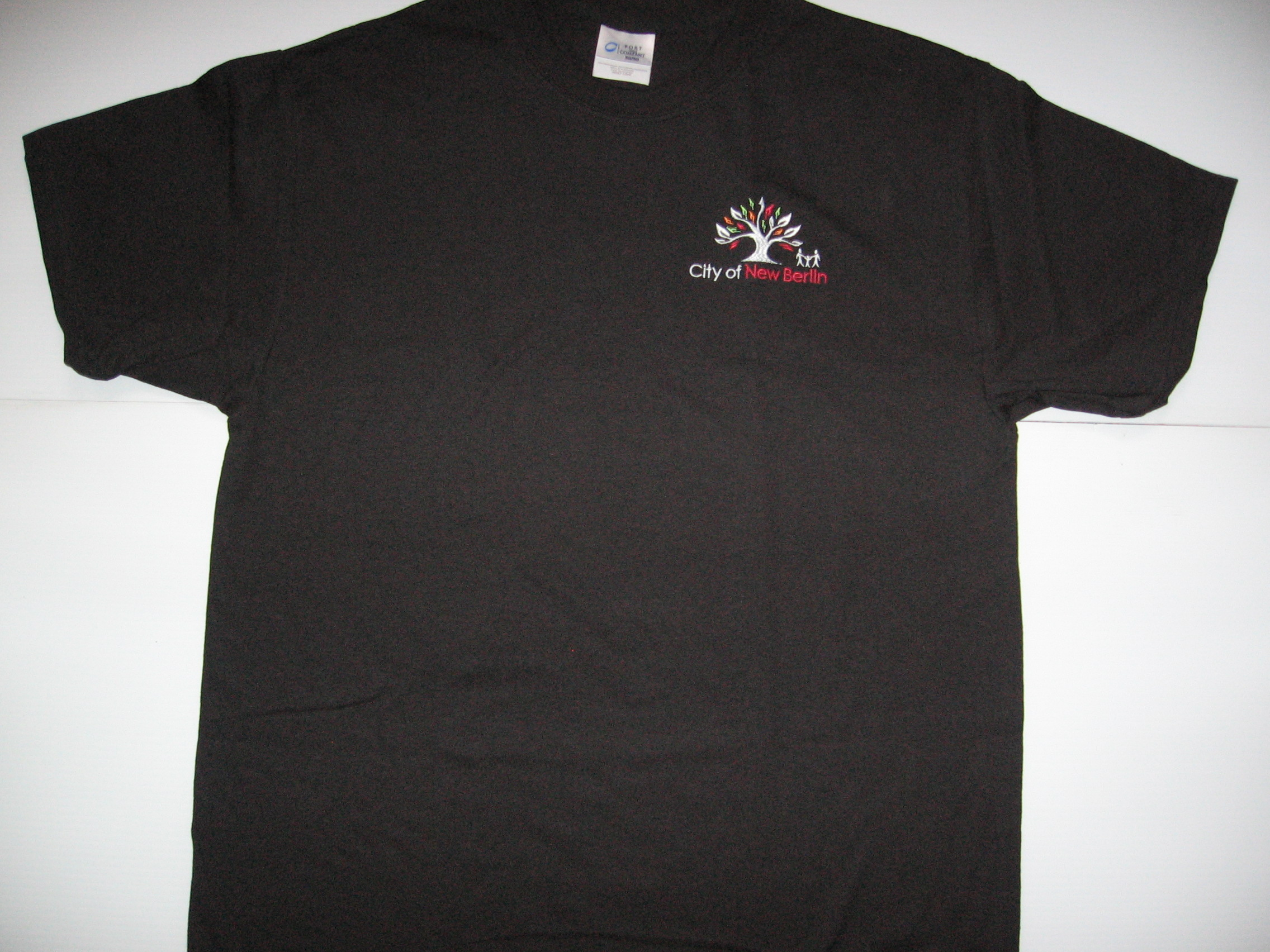 Black T-shirt with City Logo